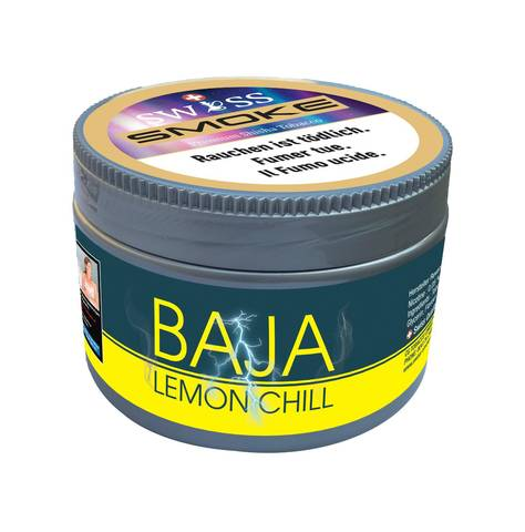 Swiss Smoke baja lemon chill